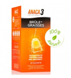 Anaca 3 Infusion Brule Graisses 24 Sachets