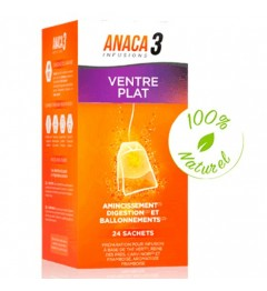 Anaca 3 Infusion Ventre Plat 24 Sachets