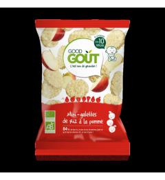 Good Gout Mini Galette de Riz à la Pomme 40 Grammes