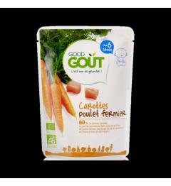 Good Gout Carottes Poulet 190 Grammes