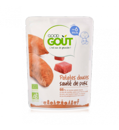Good Gout Patates Douces Sauté de Porc 190 Grammes