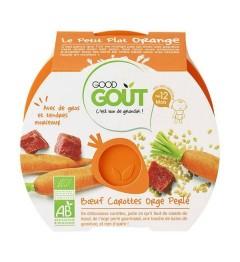 Good Gout Assiette Boeuf Carottes Orge Perlé 220 Grammes