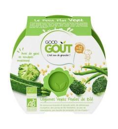 Good Gout Assiette Légumes verts Perles de Blé 220 Grammes