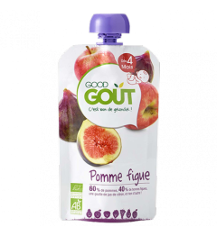 Good Gout Pomme Figue 120 Grammes