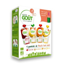 Good Gout Varity Fruits 4x120 Grammes