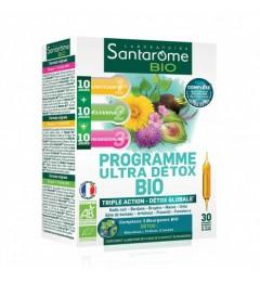 Santarome Bio Programme Ultra Détox 30 Ampoules