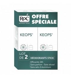 Roc Keops Déodorant Stick 2x30Ml