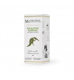 Medicinal Huile Essentielle Bio Eucalyptus Radié 10ml
