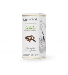 Medicinal Huile Essentielle Bio Clous de Girofle 10Ml