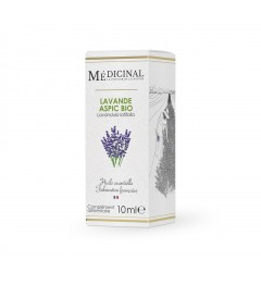 Medicinal Huile Essentielle Bio Lavande Aspic 10Ml