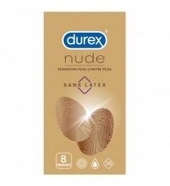 Durex Préservatif Nude Sans Latex Boite de 8