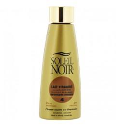 Soleil Noir Lait Vitaminé SPF4 150Ml pas cher