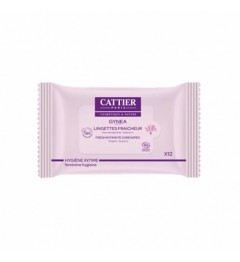 Cattier Gynea Lingettes Intimes Paquet de 12