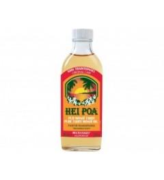 Hei Poa Pur Monoi de Tahiti Parfum Frangipanier 100Ml pas cher