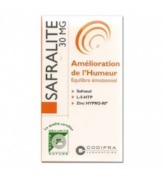 Codifra Safralite 30 Mg Gélules B/28 pas cher