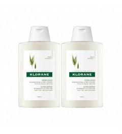 Klorane Shampoing Extra Doux au Lait d'Avoine 2x400ml