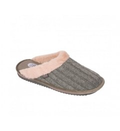 Scholl Chaussures Brienne Fluffy Gris Taille 36