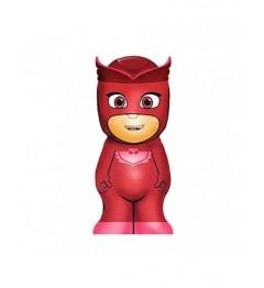PJ Mask Gel Douche 3D 400Ml Rouge