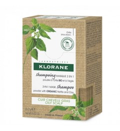 Klorane Shampooing Masque Ortie 2 en 1