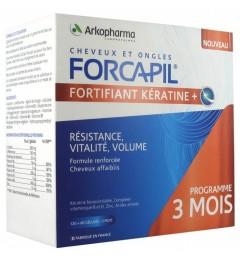 Forcapil Fortifiant Keratine 120 Gélules + 60 Gratuites
