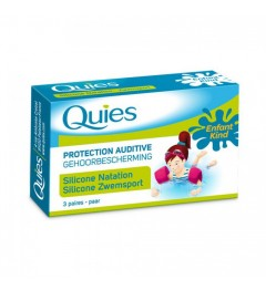 Quies Silicone Natation Protections Auditives Enfants 6 Protections