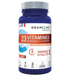 Granions 23 Vitamines Minéraux et Plantes Energie et Vitalité 90 Comprimés