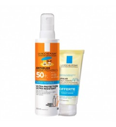 La Roche Posay Anthelios Dermo Pédiatrics Spray 200Ml et Huile Lavante 100Ml