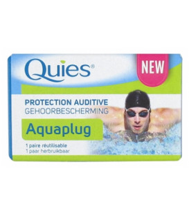 Quies Silicone Natation Protections Auditives 6 Protections