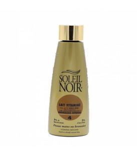 Soleil Noir Lait Vitaminé Or SPF4 150Ml pas cher