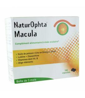 Naturophta Macula 180 Capsules