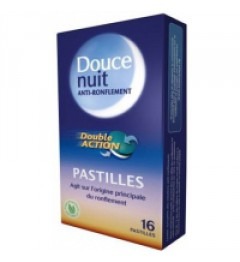Douce Nuit Anti-Ronflement Pastilles Double Action Boite de 16