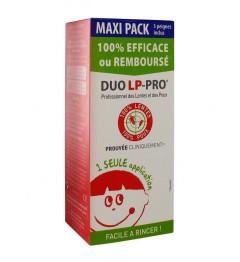 DUO LP Lotion Poux et Lentes Maxi Pack 225Ml pas cher