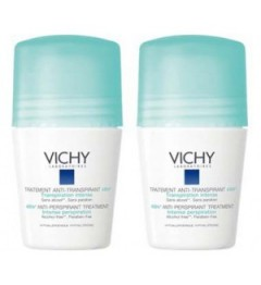 Vichy Déodorant Anti-Transpirant Bille 2x50Ml pas cher