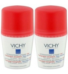 Vichy Déodorant Intensif Transpiration Excessive Bille 2x50Ml