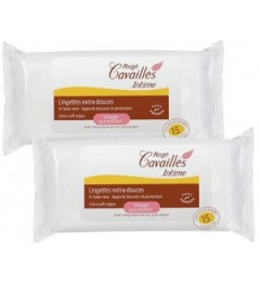 Roge Cavailles Intime Lingettes Extra Douce 2x15 pas cher
