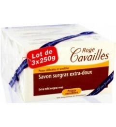 Roge Cavailles Savon Extra Doux 3x250G pas cher