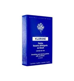 Klorane Yeux Bleuet Patch Lissant Apaisant Boite de 14, Klorane