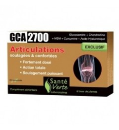 Santé Verte GCA 2700 Articulations 60 Comprimés pas cher