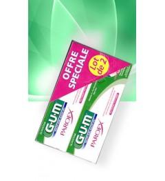 GUM Dentifrice Gel Paroex 2x75ml pas cher