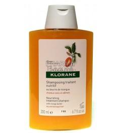 Klorane Shampoing Nutritif au Beurre de Mangue 200ml pas cher