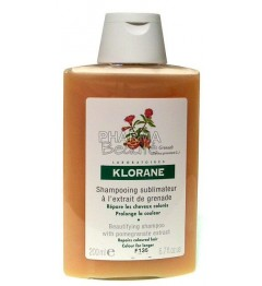 Klorane Shampoing pour Cheveux Colorés à l'Extrait de Grenade