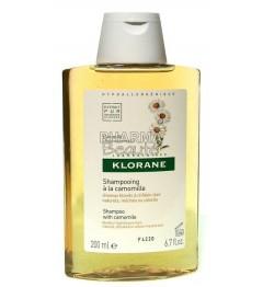 Klorane Shampoing Cheveux Blonds à la Camomille 200ml pas cher