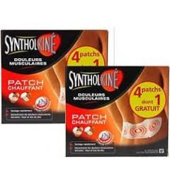 Synthol Patch Chauffant Dos, Nuque, Epaule 8 Heures Boite de 2