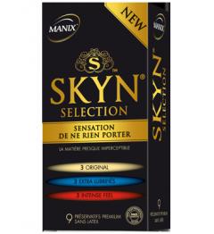 Manix Préservatif Skyn Sélection Boite de 9 pas cher