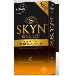 Manix Préservatif Skyn King Size Boite de 10 pas cher