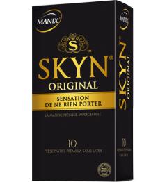 Manix Préservatif Skyn Original Boite de 10 pas cher