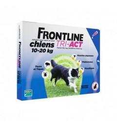 Frontline Tri Act Chiens M 10 à 20Kg 3 Pipettes