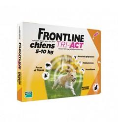 Frontline Tri Act Chiens S 5 à 10Kg 6 Pipettes