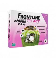 Frontline Tri Act Chiens XS 2 à 5Kg 6 Pipettes