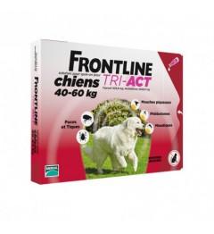 Frontline Tri Act Chien XL 40 à 60Kg 3 Pipettes pas cher